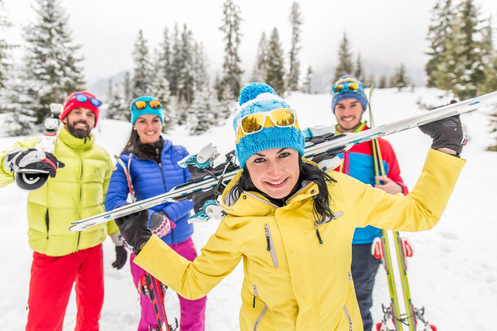 Jobs in ski resorts