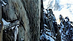 Chamonix aiguille tunnel walk