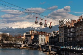 Grenoble Transfer to ski resorts across the Alps