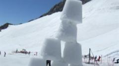 summer skiing tignes