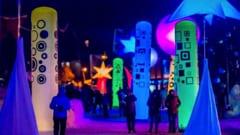 Val d'Isere festival of light