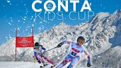 Les Contamines kids ski race