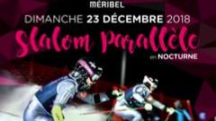 meribel les allues ladies ski night racing