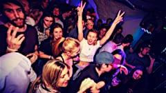 Party time in Meribel