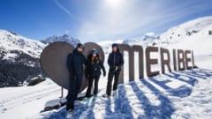 meribel spring snow parties