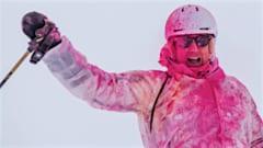 Verbier ski colours