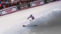 Val d'Isere ski racing