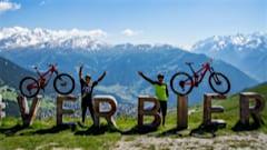 Verbier mountain biking in the 4Vallees