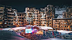 Avoriaz festive season lights