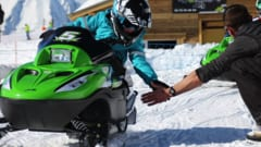 Avoriaz snowmobile transfers