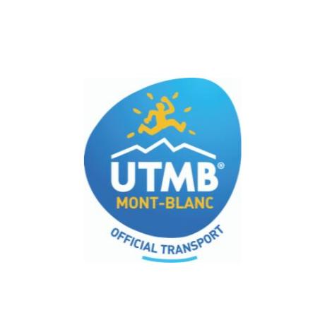 UTMB Geneva Chamonix transfer official partner logo
